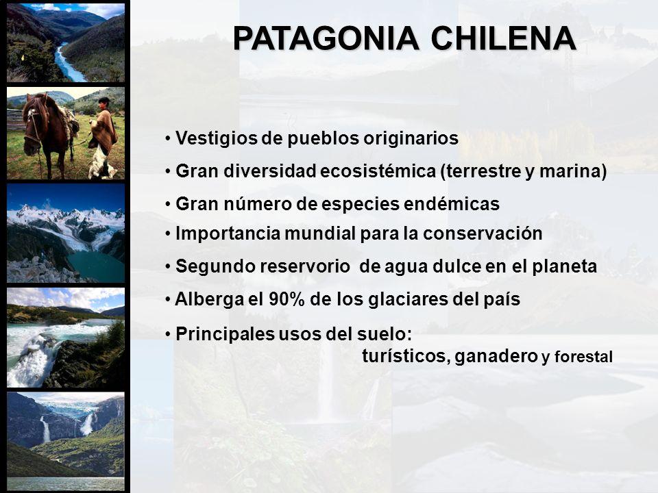PATAGONIA CHILENA Vestigios de pueblos originarios