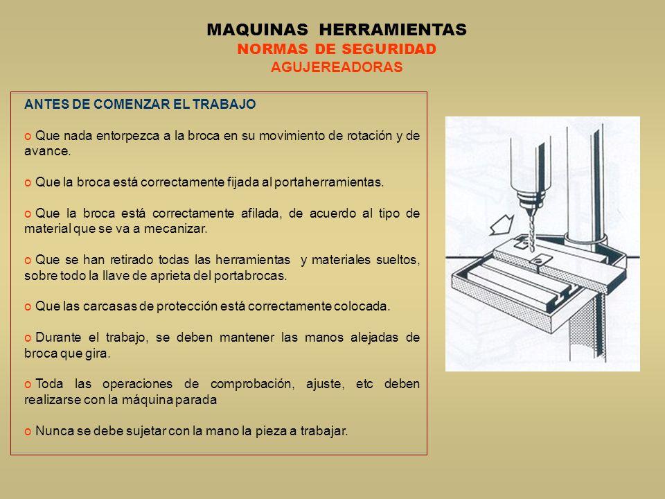 MAQUINAS HERRAMIENTAS
