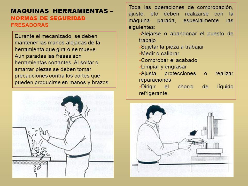 MAQUINAS HERRAMIENTAS –