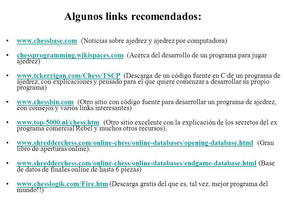 Algunos links recomendados: