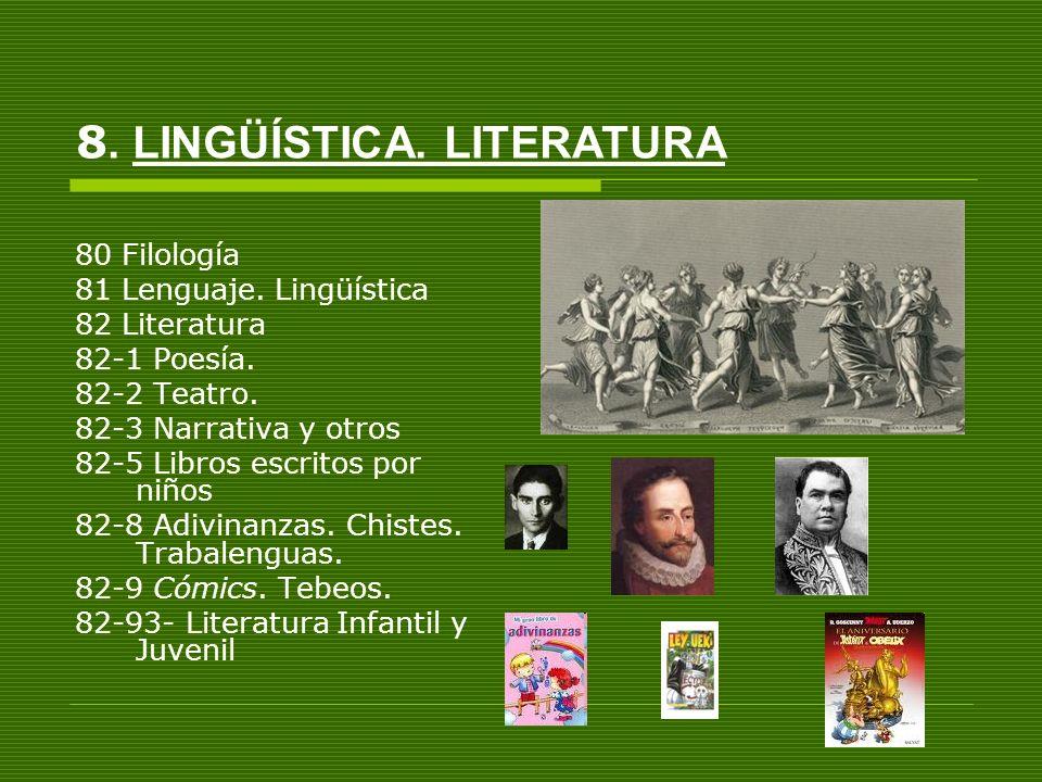 8. LINGÜÍSTICA. LITERATURA