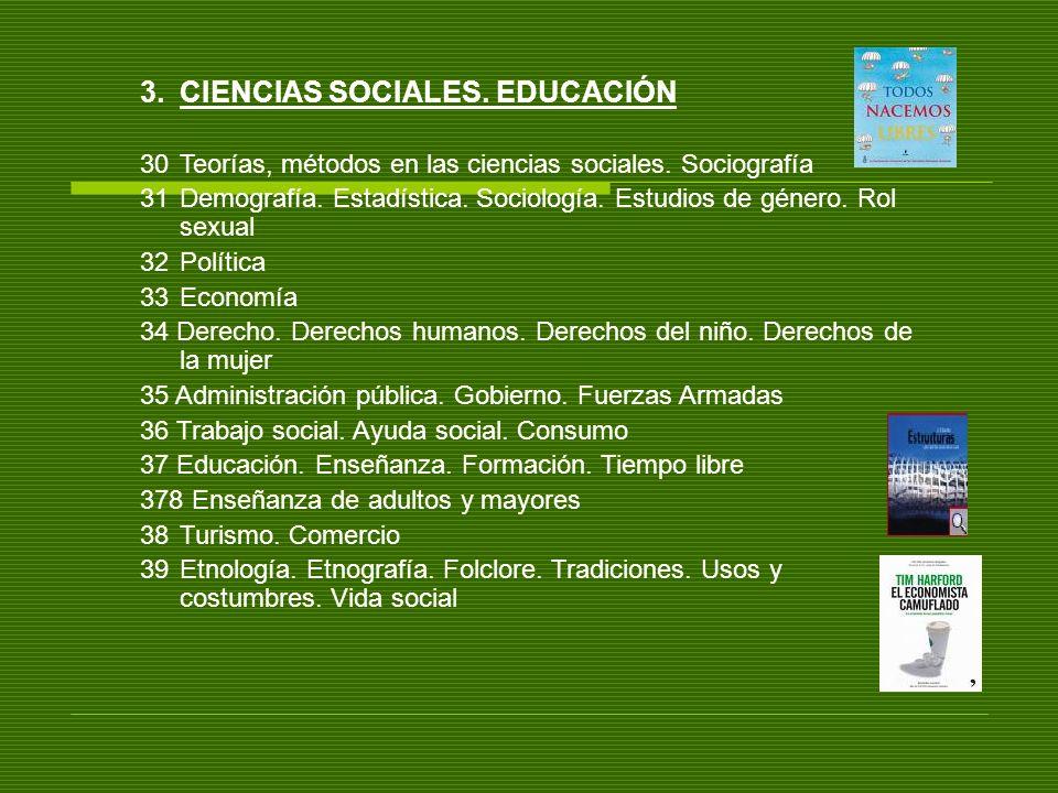 CIENCIAS SOCIALES. EDUCACIÓN