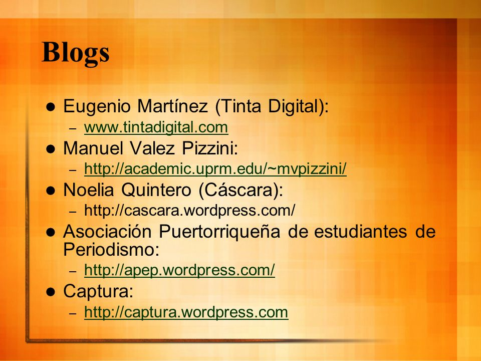 Blogs Eugenio Martínez (Tinta Digital): Manuel Valez Pizzini: