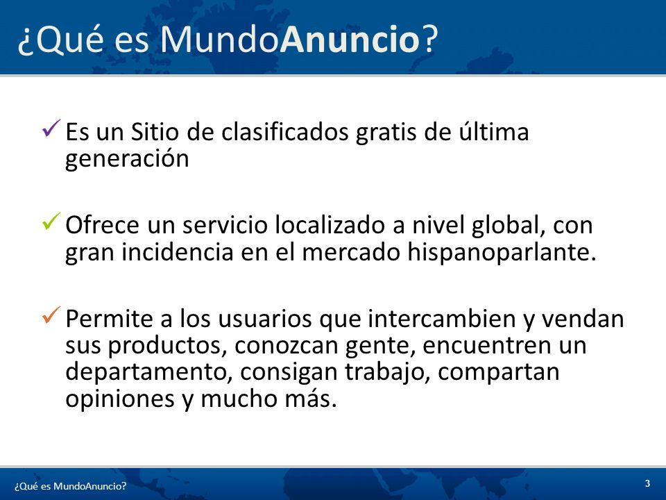 ¿Qué es MundoAnuncio Es un Sitio de clasificados gratis de última generación.