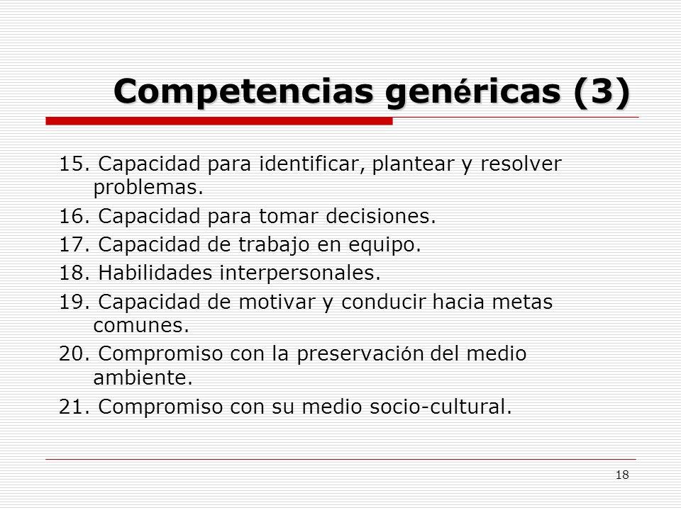 Competencias genéricas (3)