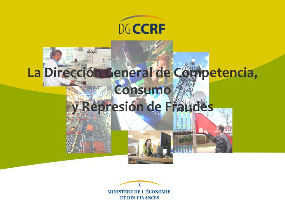 La Dirección General de Competencia, Consumo y Represión de Fraudes