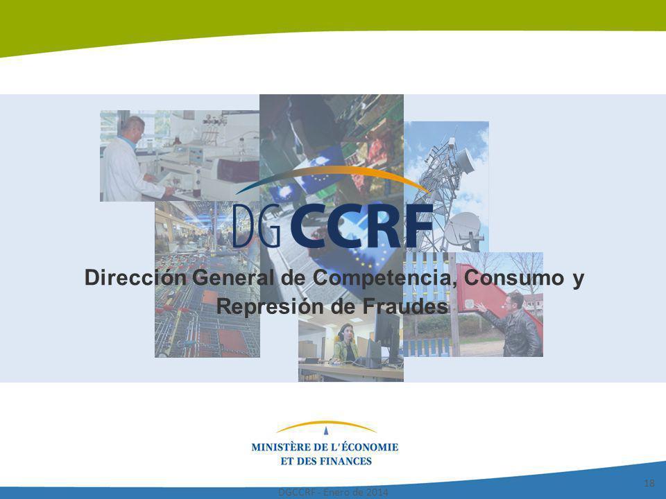 Dirección General de Competencia, Consumo y