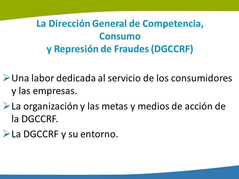 Una labor dedicada al servicio de los consumidores y las empresas.