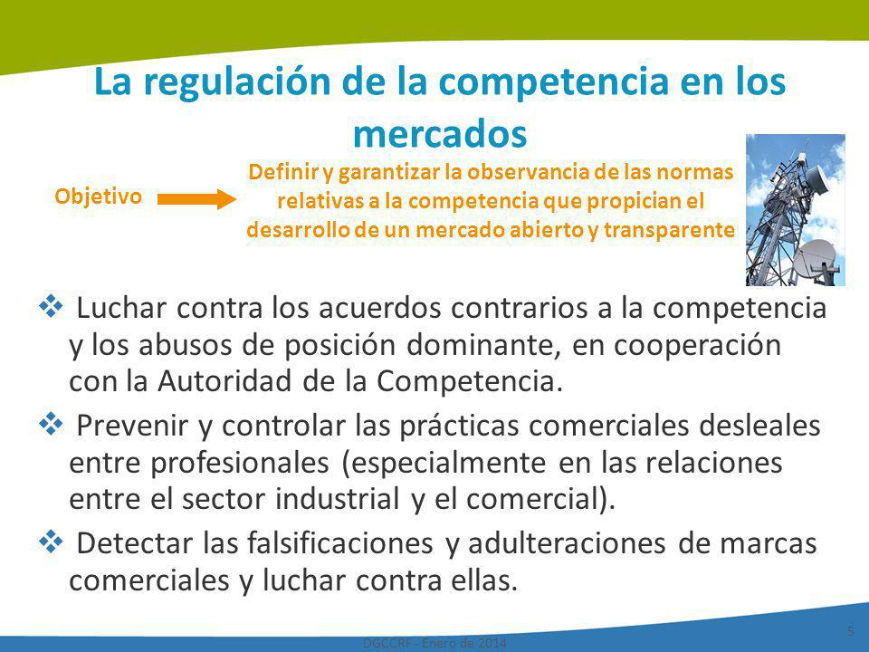 La regulación de la competencia en los mercados