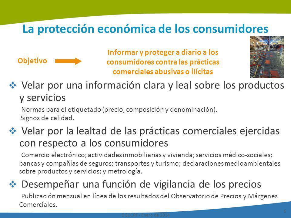 La protección económica de los consumidores