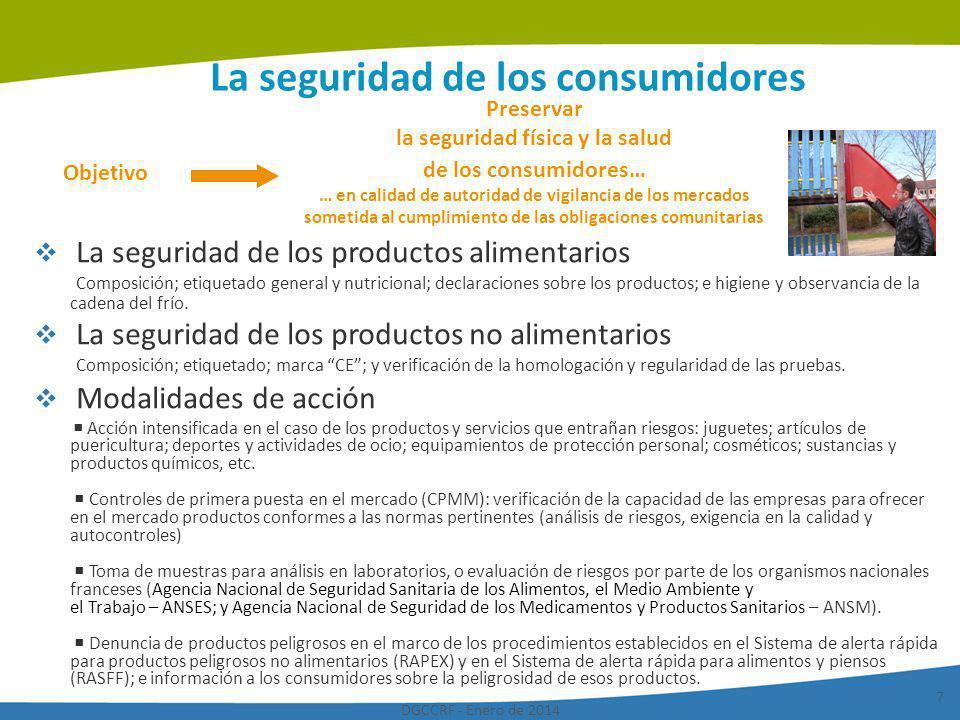 La seguridad de los consumidores