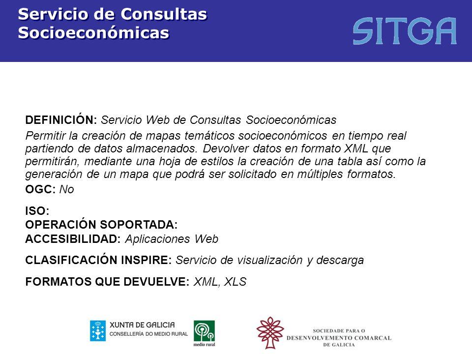 Servicio de Consultas Socioeconómicas