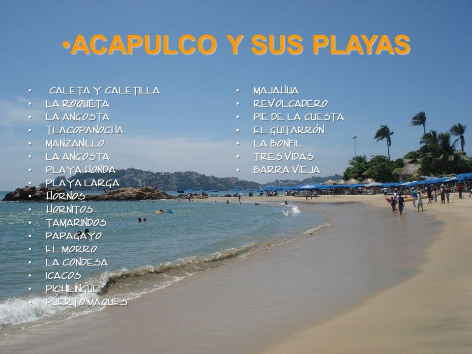 ACAPULCO Y SUS PLAYAS