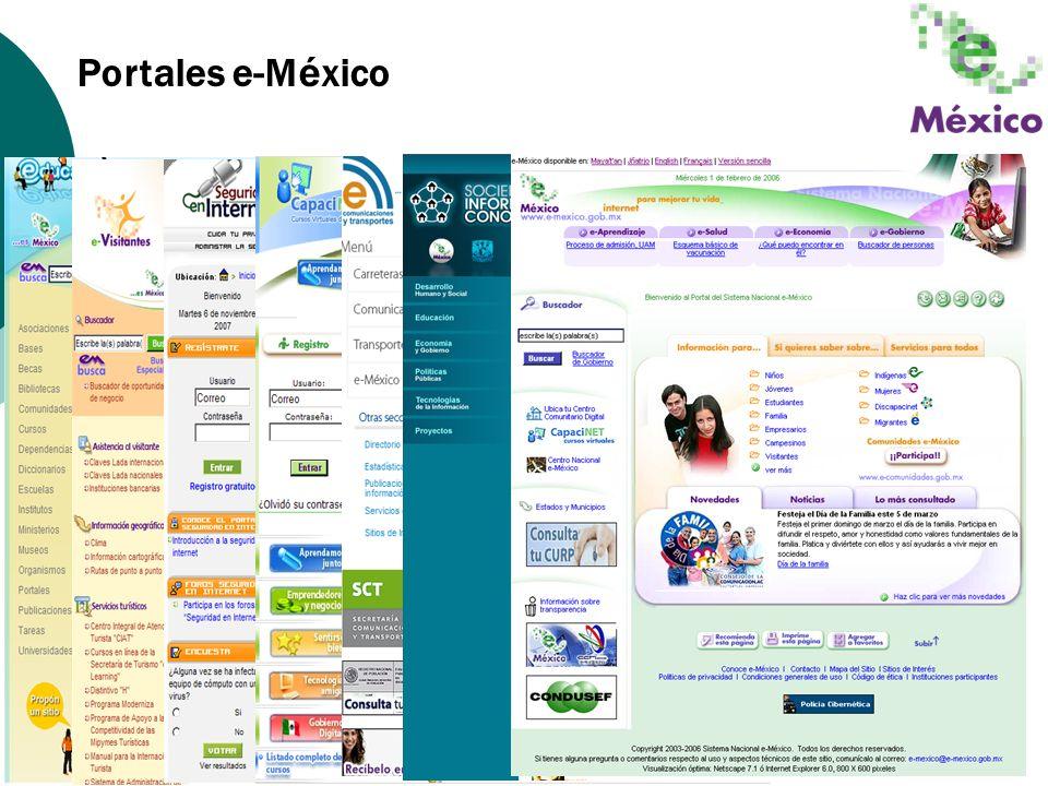 Portales e-México
