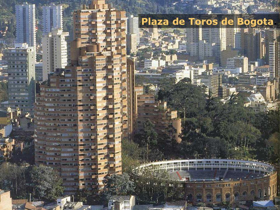 Plaza de Toros de Bogota.