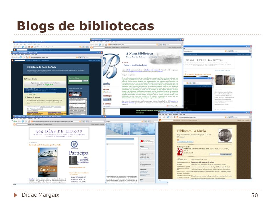 Blogs de bibliotecas Dídac Margaix