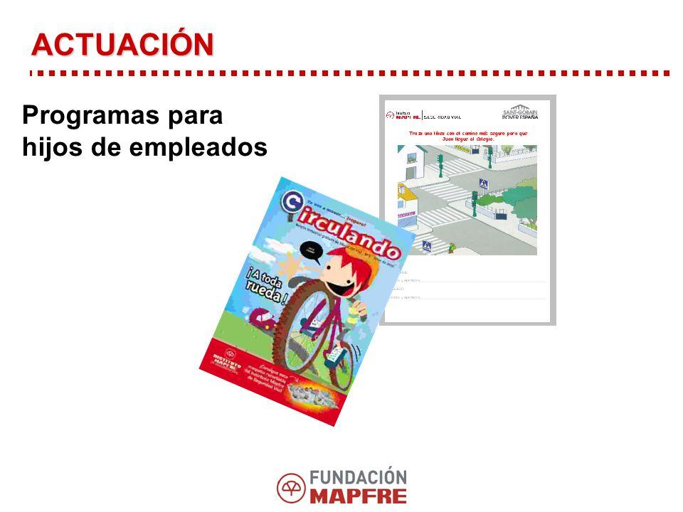 ACTUACIÓN Programas para hijos de empleados