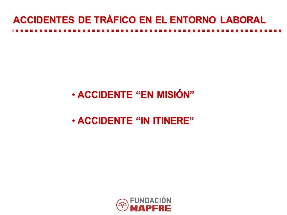 ACCIDENTES DE TRÁFICO EN EL ENTORNO LABORAL