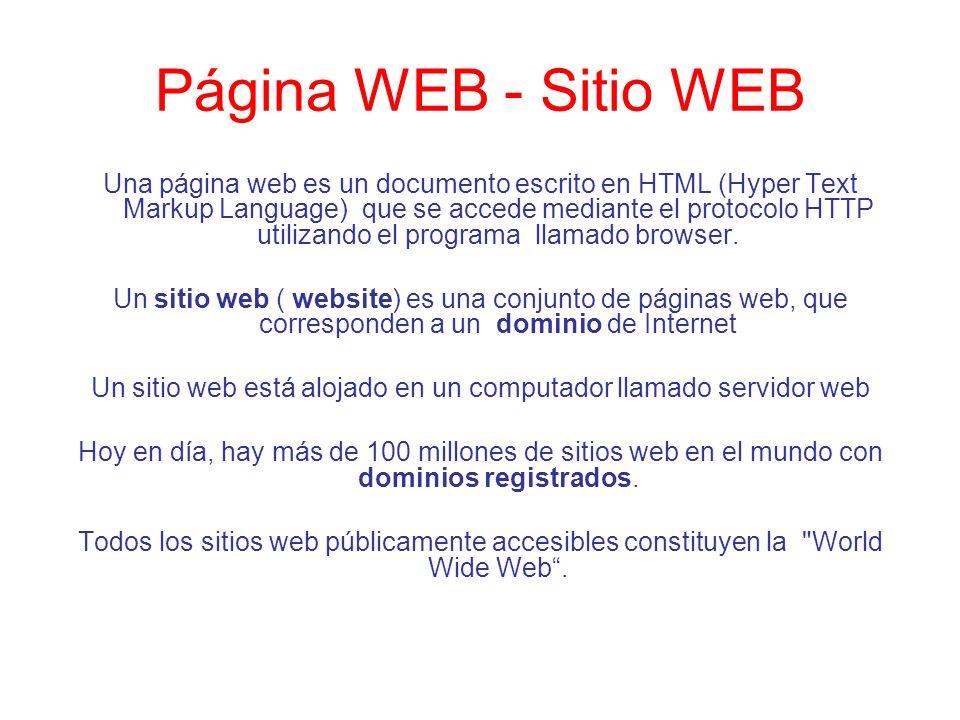 Un sitio web está alojado en un computador llamado servidor web