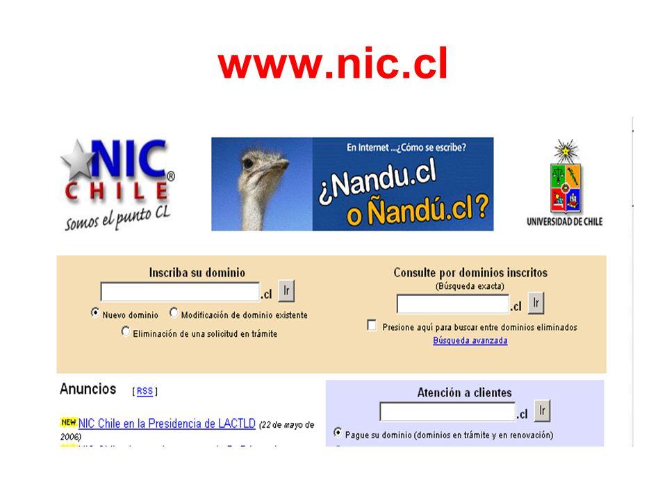 www.nic.cl