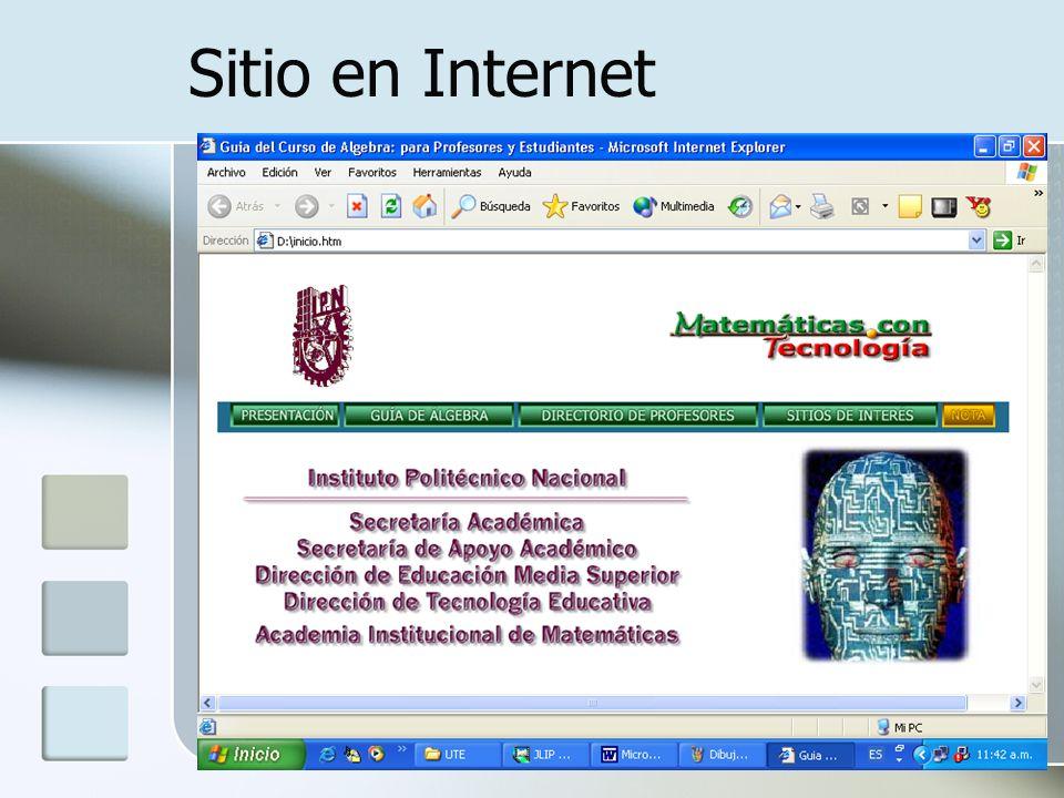 Sitio en Internet