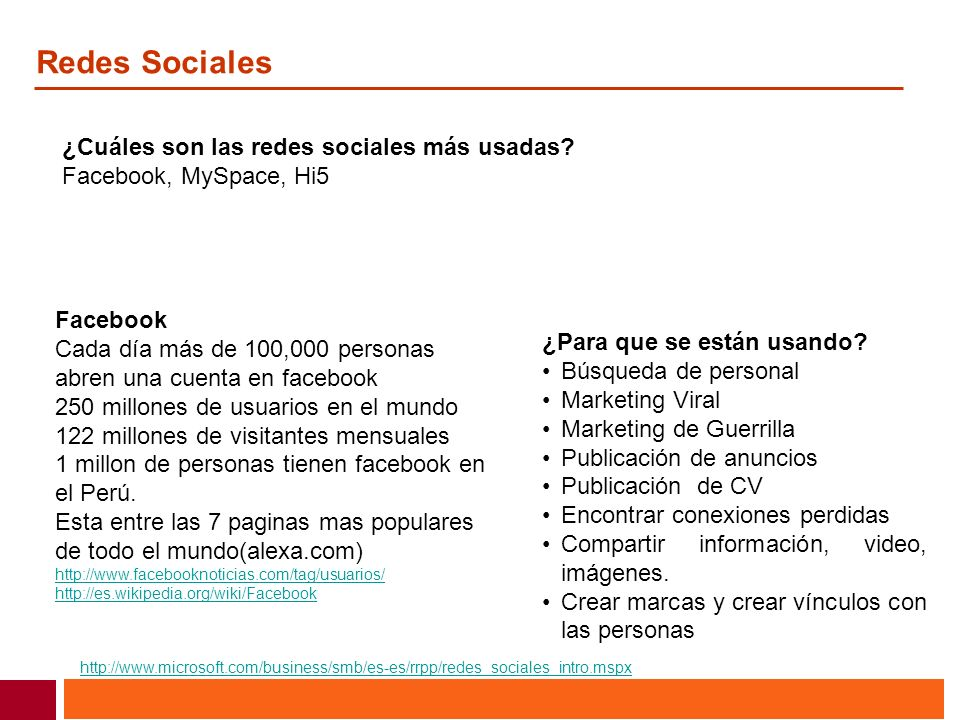 Redes Sociales ¿Cuáles son las redes sociales más usadas
