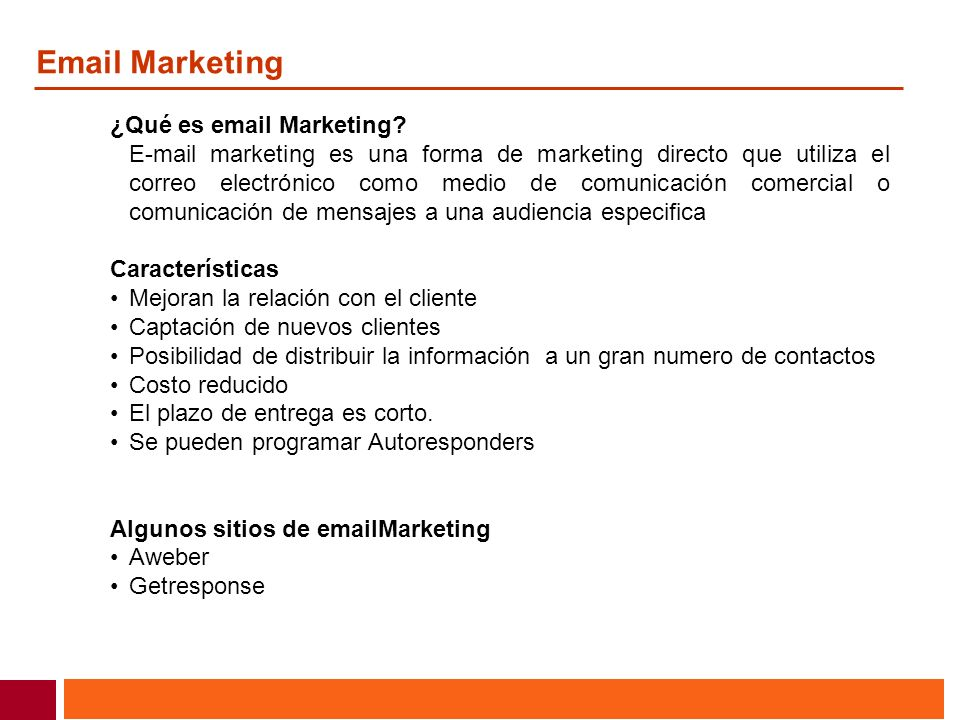 Email Marketing ¿Qué es email Marketing