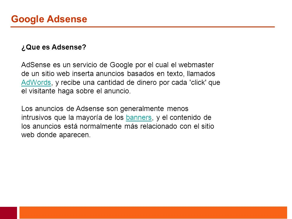 Google Adsense ¿Que es Adsense