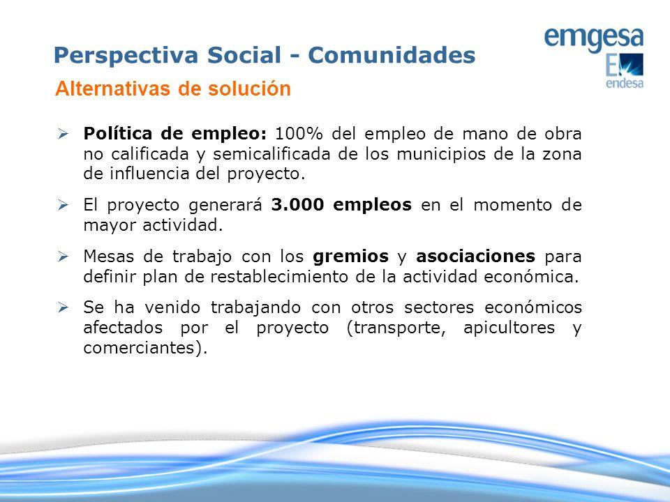 Perspectiva Social - Comunidades