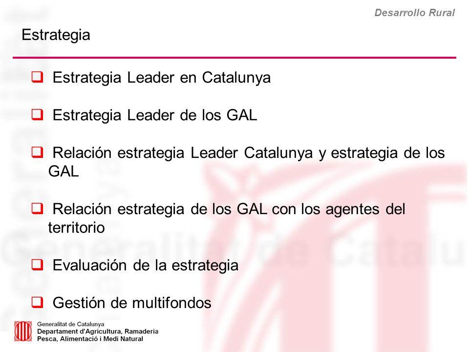 Estrategia Leader en Catalunya Estrategia Leader de los GAL