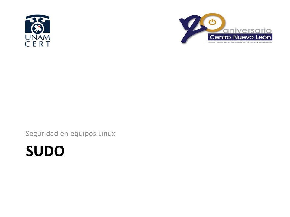 Seguridad en equipos Linux