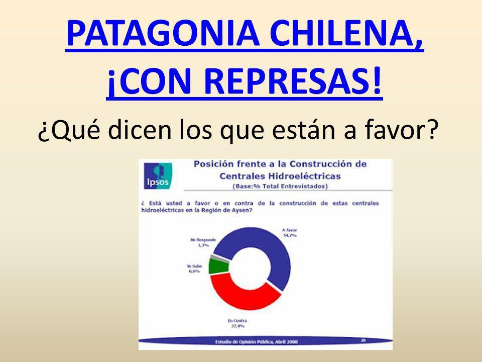 PATAGONIA CHILENA, ¡CON REPRESAS!