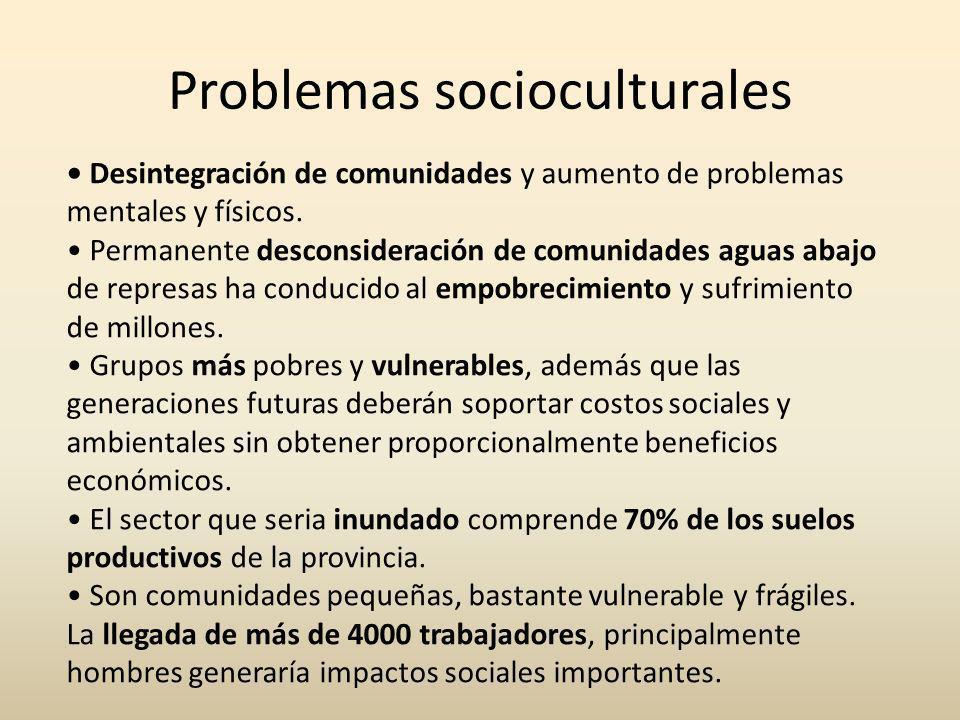 Problemas socioculturales