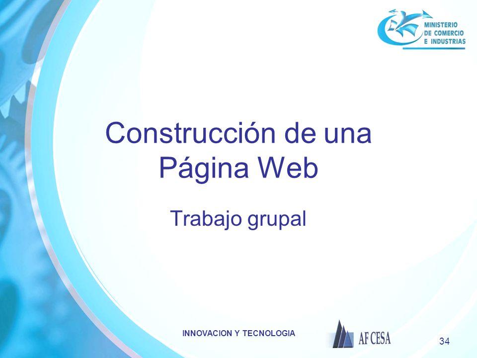 Construcción de una Página Web