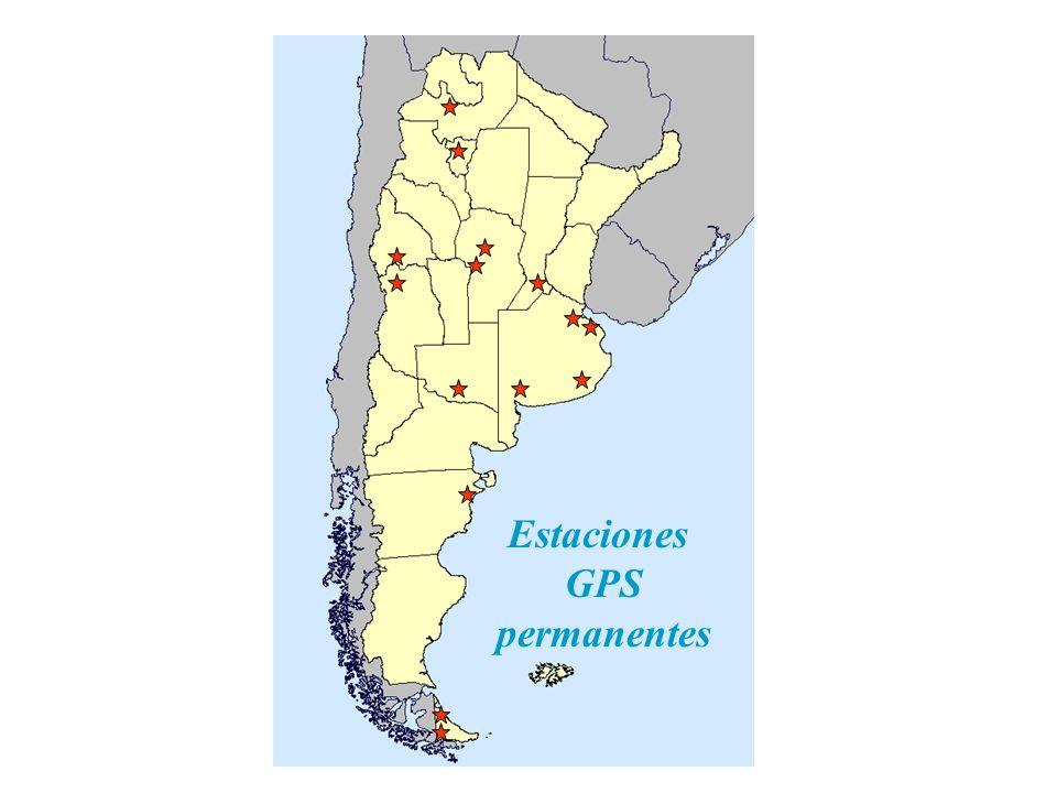 Estaciones GPS permanentes