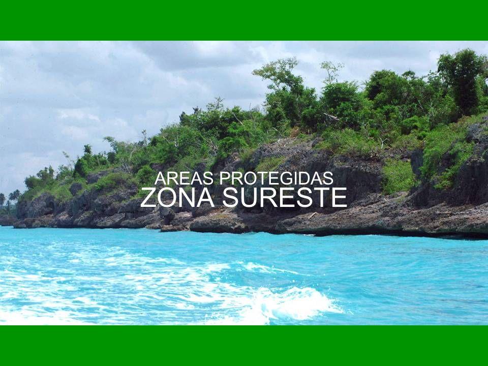 AREAS PROTEGIDAS ZONA SURESTE