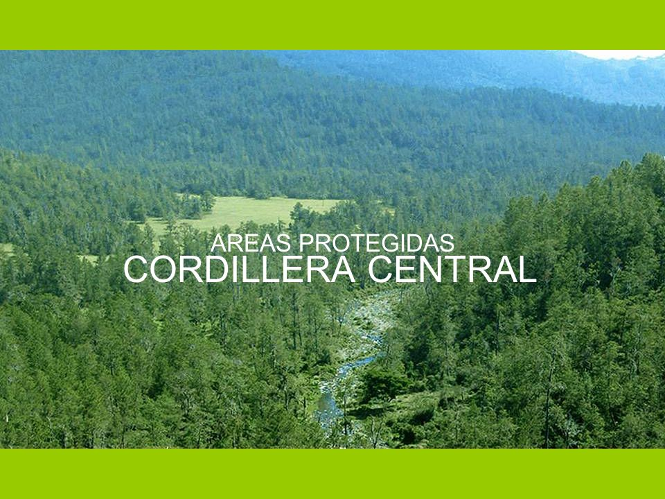 AREAS PROTEGIDAS CORDILLERA CENTRAL