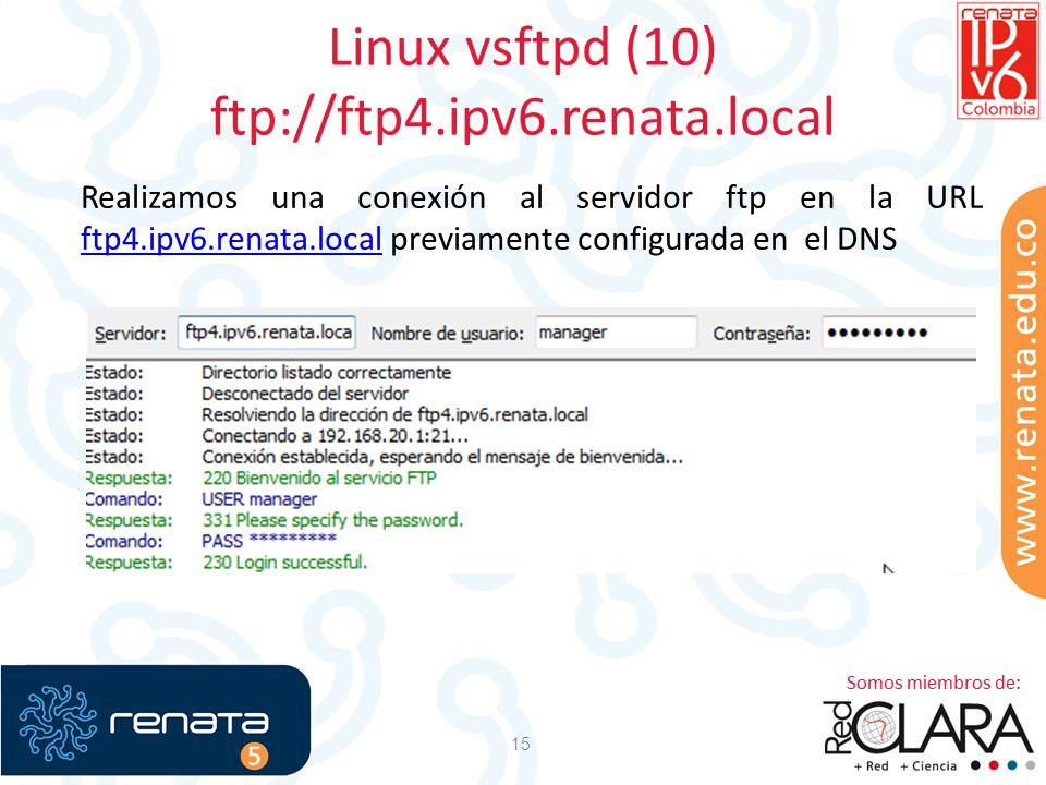 Linux vsftpd (10) ftp://ftp4.ipv6.renata.local