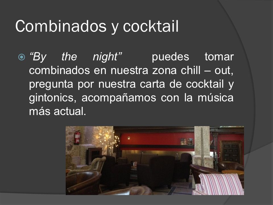 Combinados y cocktail