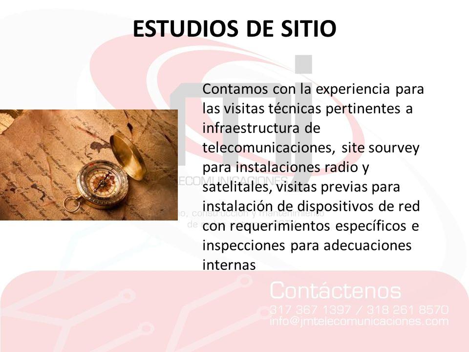 ESTUDIOS DE SITIO