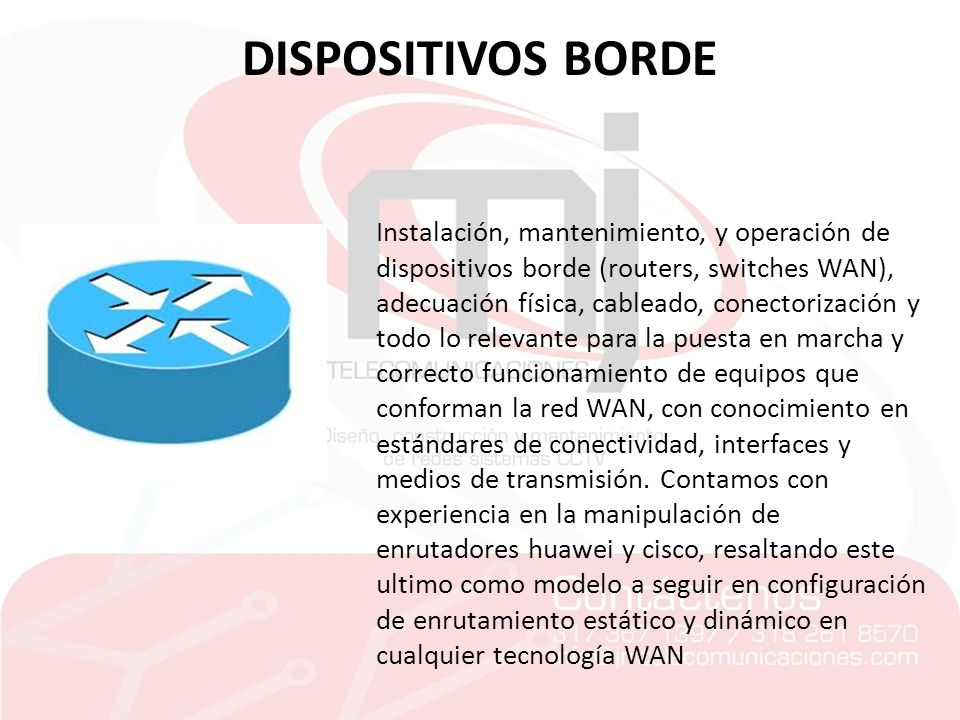 DISPOSITIVOS BORDE