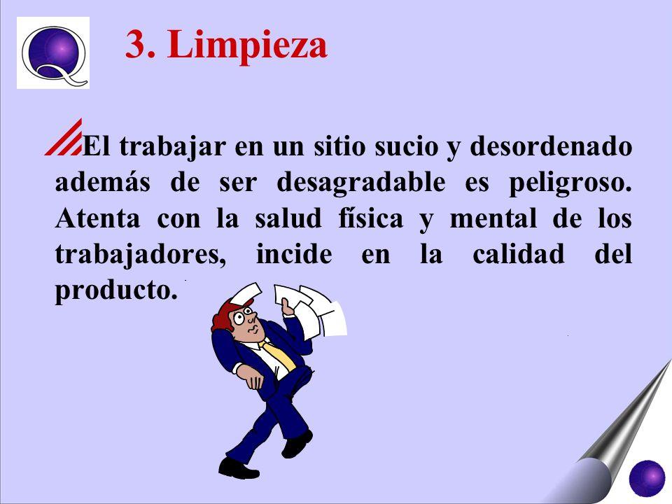 3. Limpieza