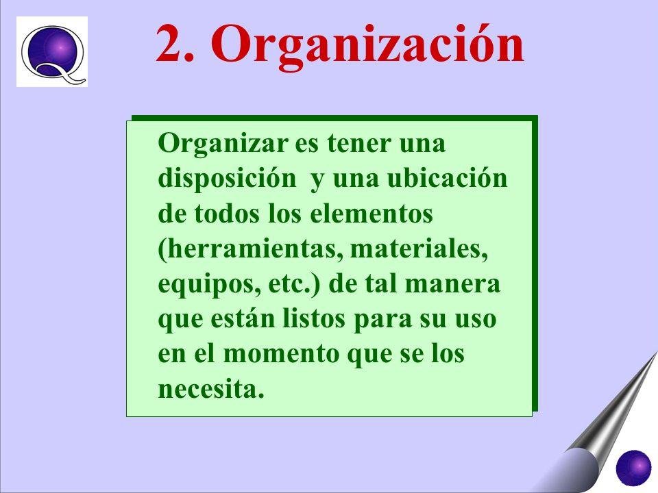 2. Organización