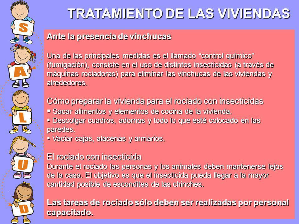 TRATAMIENTO DE LAS VIVIENDAS