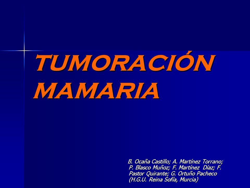 TUMORACIÓN MAMARIA