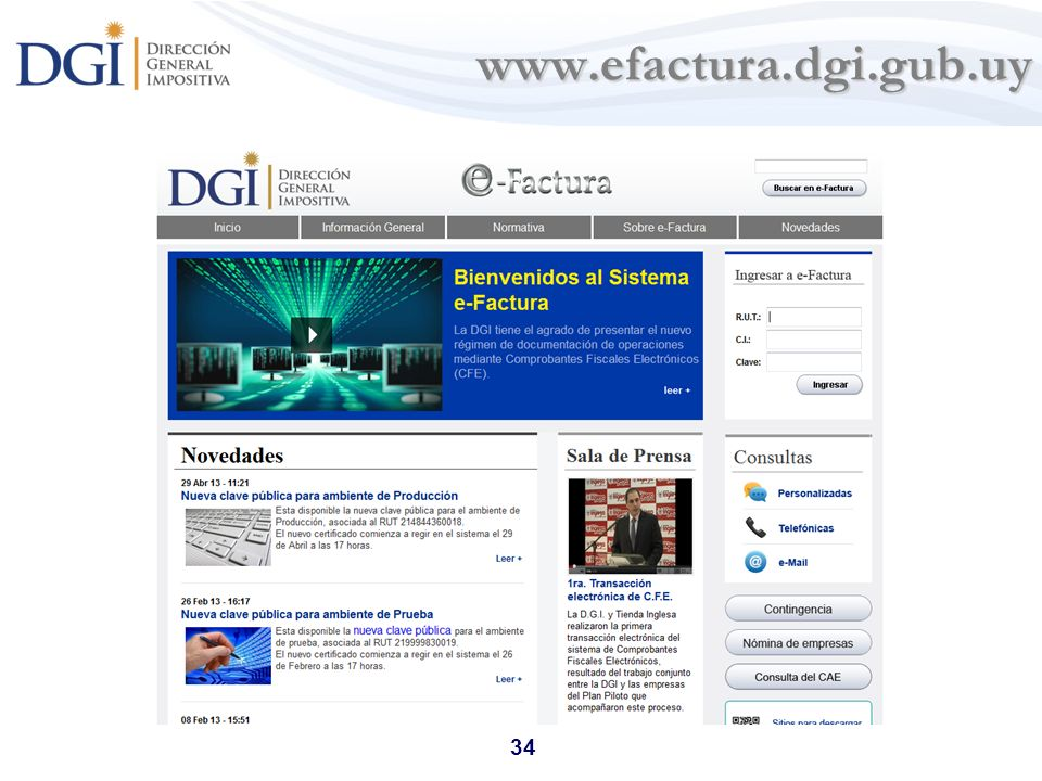 www.efactura.dgi.gub.uy