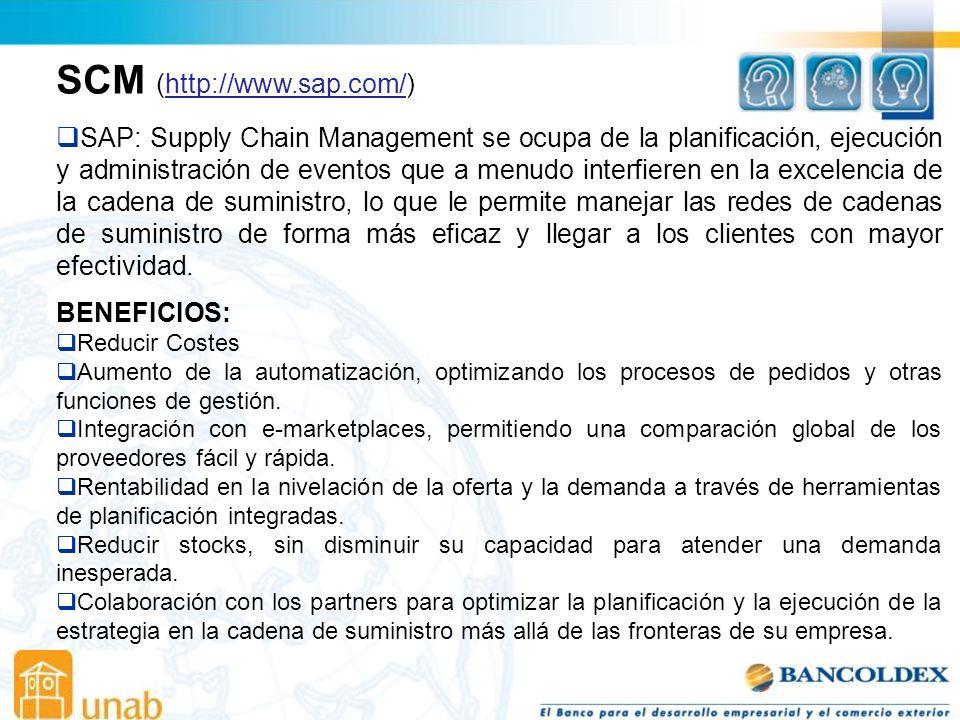 SCM (http://www.sap.com/)