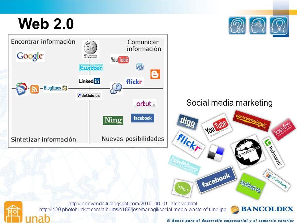 Web 2.0 Social media marketing