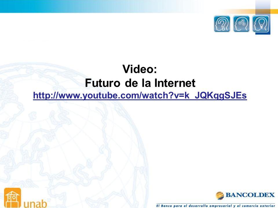 Video: Futuro de la Internet
