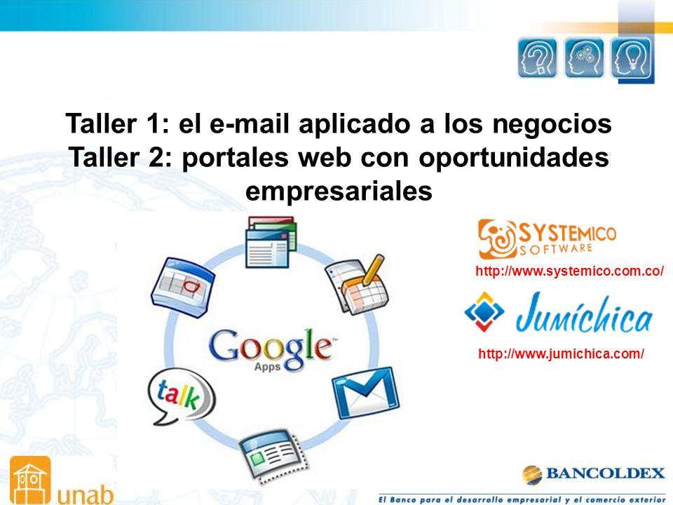 Taller 1: el e-mail aplicado a los negocios